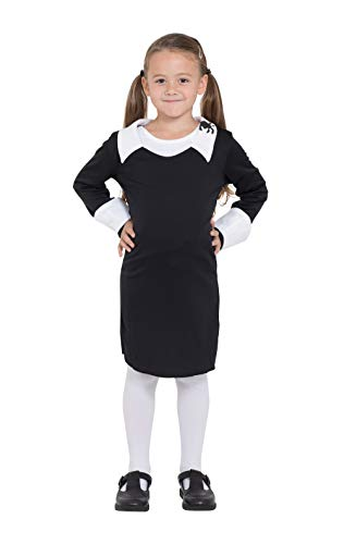 Bristol Novelty CC928 Creepy Schoolgirl Costume, Medium, Approx Age 5 - 7 Years, Creepy Schoolgirl (M)]()