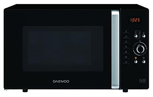 Daewoo KOC-9Q3T - Microondas digital convección y grill, 900 W, 28 L, Negro