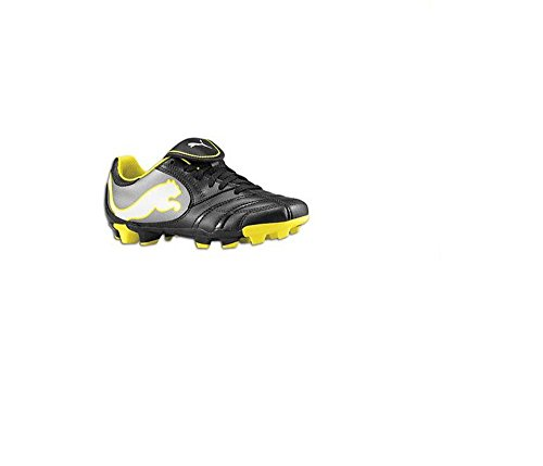 Puma Juniors/youths Power Cat Black Soccer Cleats (6)