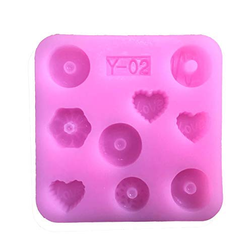 (Mini Gemstone Mold Silicone Mold - Miniature Food, Sweets, Jewelry, Charms (Epoxy, Fondant, Clay, Fimo, Resin, Sculpey))