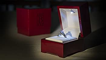 Bright Box: Princess (Deluxe) - The World's Finest Single Ring Lighted Presentation Box