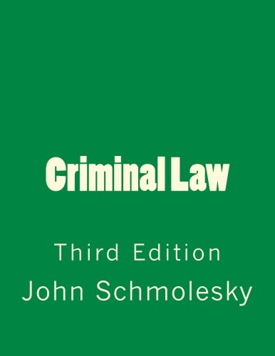 Criminal Law: Third Edition