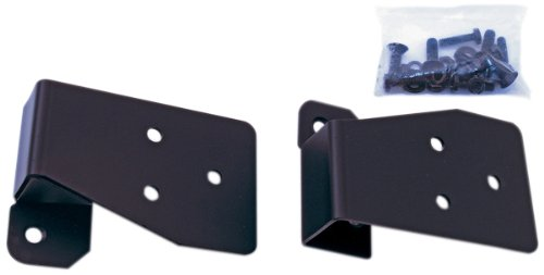 Rugged Ridge 11025.03 Black Mirror Relocation Bracket - - Relocation Brackets Rugged Mirror Ridge