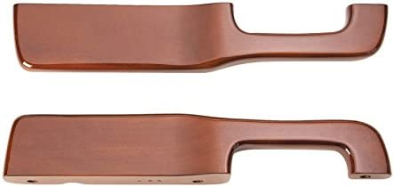 No Logo Peterbilt Armrest with Rosewood Stain