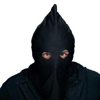 Rubie's Costume Co Executioner's Hoodie, Black -