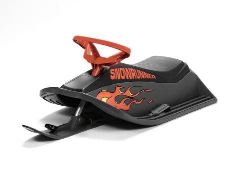 Stiga Sports Schlitten Sow Runner Flames, grau/orange, 73-6120-60