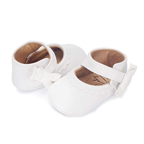 ESTAMICO Infant Baby Girls Ballet Flats Shoes Mary Jane Dress Shoes Toddler First Walkers