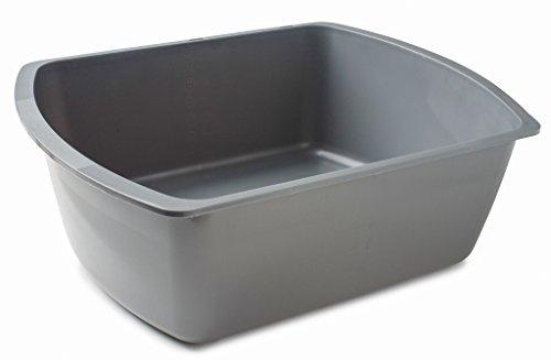 vakly-rectangular-plastic-wash-basins-gray-8-quart-1