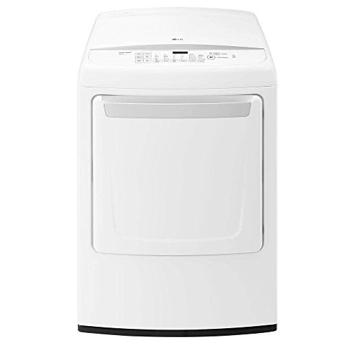"LG DLE1501W 27"" Electric Front Load Dryer with 7.3 cu. ft. C"
