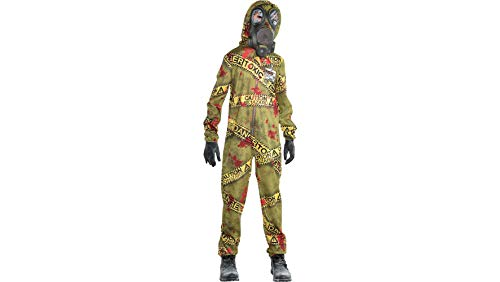 amscan Halloween Boy's Quarantine Zombie Costume - Medium