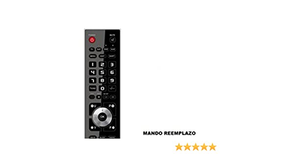 Mando Televisión para TV Oki B24E-LED1 - Reemplazo: Amazon.es ...