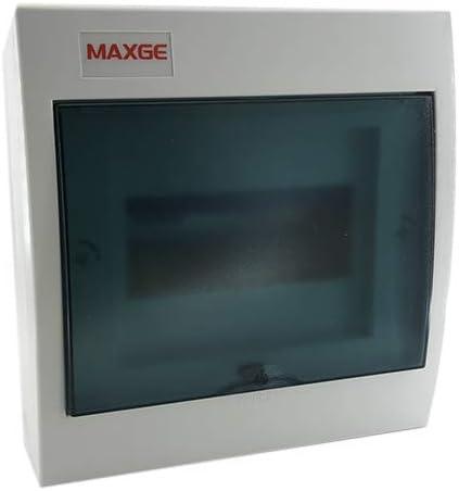 Caja distribucion electrica empotrable IP30 de 6 modulos Blanco ...