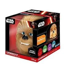 Chewbacca Life - ILLUMI-MATE STAR WARS - CHEWBACCA - Portable night light- Perfect for taking camping, holidays or sleepovers. Collect them all