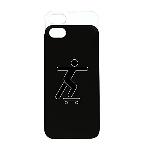 Price comparison product image iPhone 5 or 5S Wallet Case Black and White Skateboard Skater Traffic Symbol