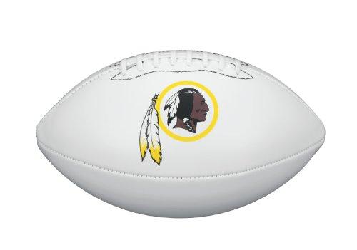 (NFL Team Logo Autograph Football Washington Redskins)