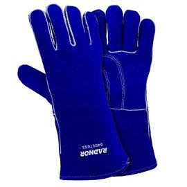 Radnor - Guantes de soldar con forro de algodón y espuma (4 pares, talla XS, 12 unidades), color azul: Amazon.es: Amazon.es