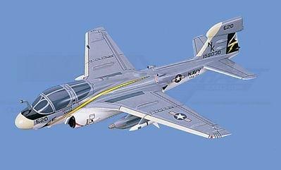 EA-6B Prowler - Navy, Loaded Aircraft Model Mahogany Display Model / Toy. Scale: 1/48