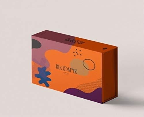 IZ*ONE 'BLOOM*IZ' 1st Album Version.3 CD+1p Poster+112p PhotoBook+1p IZONE Card+4p PhotoCard+Pre-Order(1p AR Card+1p PostCard+1p Mini Card)+Message PhotoCard SET+Tracking Kpop Sealed