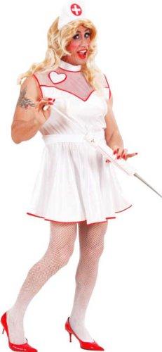 Costumes Drag (Nurse For Men - Drag Queens - Adult Fancy Dress Costume -)