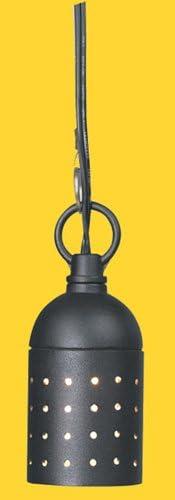 Corona CL-385-BK -Low Voltage 12V Hanging Light Aluminum Twinkle, 2.5 H, Black