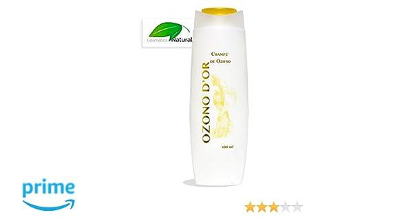 Champú Natural de Ozono 400 ml. Es Anticaspa y previene la alopecia, da más brillo y especial para cabello graso. Uso diario, da suavidad y flexibilidad: ...