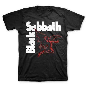 - Bravado Men's Black Sabbath Creature T- Shirt, Black, XX-Large