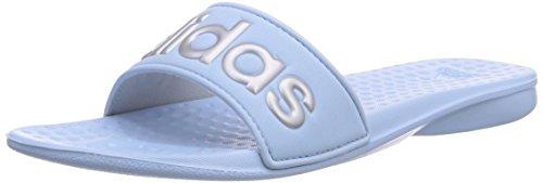 adidas Carodas Slide - Zapatillas De Agua de material sintético mujer azul - Blau (Clear Sky/Silver Met./Clear Sky)