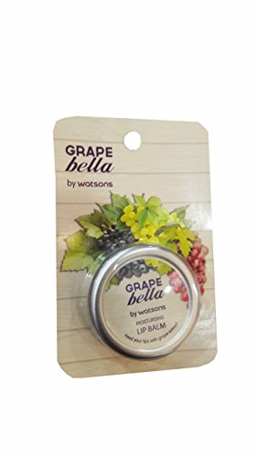2 packs of Grape Bella by Watsons Moisturising Lip Balm. This lip balm is a special hydrating lip treatment. Nourish, hydrate and prevent dry, chapped lips. (10g./