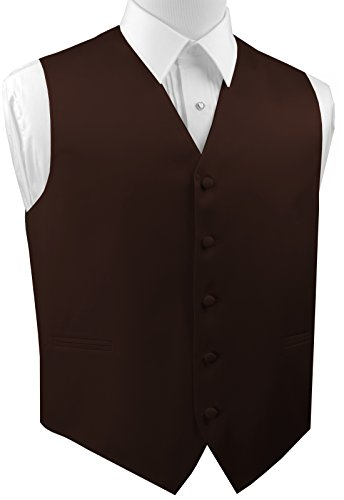 Italian Design Men's Formal Tuxedo (Chocolate Brown Italian)