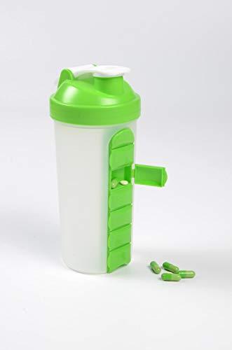 Water Drinking Bottle Pill Organizer Reminder 7day Pill reminder Organizer 24oz