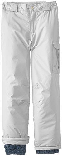 White Sierra Girl's Cruiser Snow Pant (Cloud, Small)