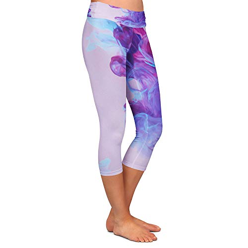 Inky Fitness Stretch Giovane Jogging Capri Sport Viola Allenamento Yoga Waters Pantaloni Colour Donna Moda Leggings Da RXBTPB
