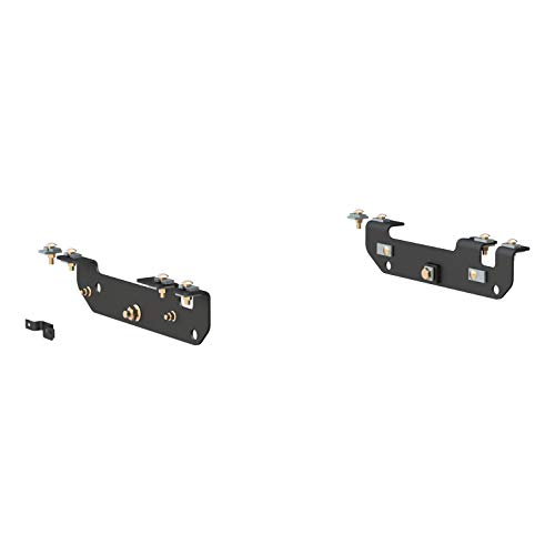 CURT 16424 Black 5th Wheel Hitch Installation Brackets for Select Ford F-250, F-350, F-450 Super Duty - Relocation Forward Control Kit