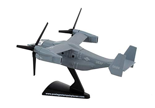 Model Power Postage Stamp V-22 Osprey Diecast Plane w/Stand #5378