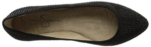 Jessica Simpson Mujeres Labelle Ballet Flat Black