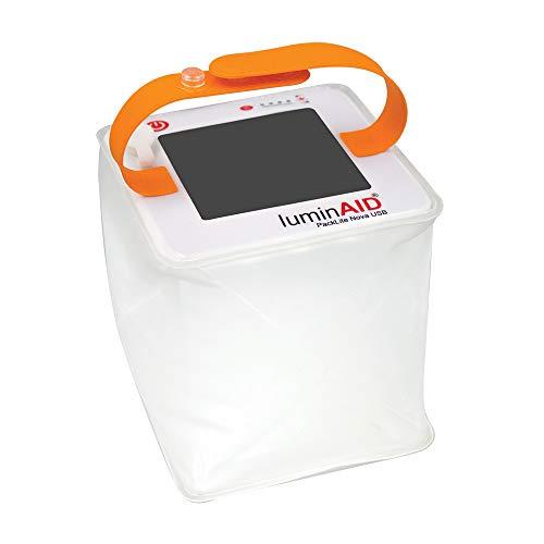 LuminAID Solar Inflatable Lanterns | Great for Camping Lantern, Emergency Light, Pool Light from LuminAID