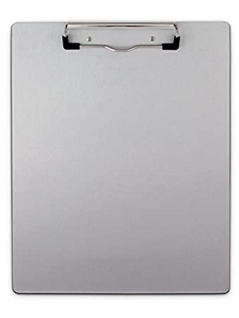 Saunders Recycled Aluminum Clipboard U2013 Recordkeeping Tool With Low Profile  Clip And Built In Hanging