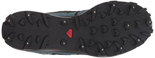Silver Blue Mallard Shoe Black Running Reflective Salomon Cs Speedspike Trail p7yqOZ0Bz