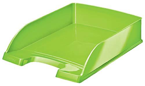 Leitz Bandeja Portadocumentos A4, Verde, Gama WOW, 52263054