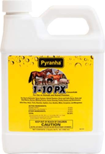Pyranha 001PX110 068220 1-10 Px Concentrate Livestock Insecticide ()