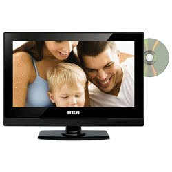RCA 13inch LED TV With Dual DVD AC/DC Power 1366 X 768 HD Resolution Display Headphone Jack