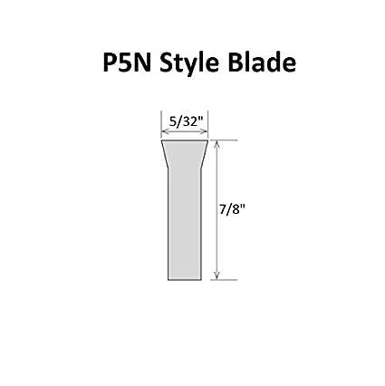 HHIP 2000-7020 3//32 X 1//2 X 4-1//2 Inch 8-Percent Cobalt Parallel Type Cut-Off Blade-P2