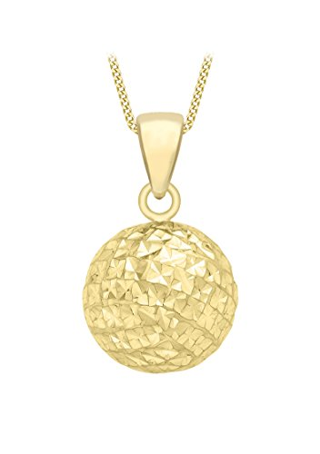 Carissima Gold Damen-Kette mit Anhänger 375 Gelbgold 46 cm - 1.44.7104