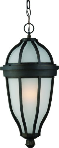 Artcraft Lighting Newport Outdoor Chain Pendant Light, Oil-Rubbed Bronze