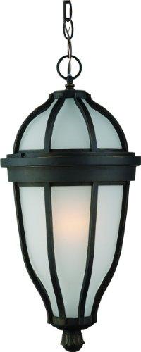 (Artcraft Lighting Newport Outdoor Chain Pendant Light, Oil-Rubbed Bronze)