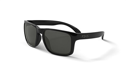 REKS Unbreakable SPORT Sunglasses (NEW 2018 Model) (Polarized, Silver - For Models Men Sunglasses