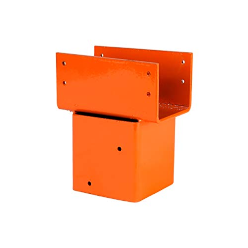 Ellis Manufacturing Company Double 2x6 Joist Holder - Secure Posts to Joists in Crawl Space - Extra Lateral Support