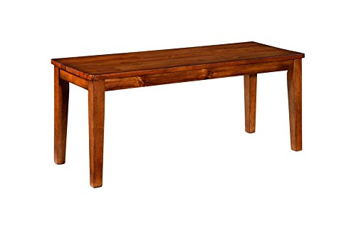 Ashley Furniture Signature Design Shallibay Large Dining Room Bench Light Brown Buy Online In