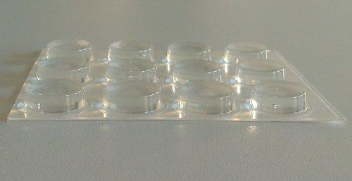 Elastikpuffer zylindrisch transparent 20,0 mm x 6,2 mm, 2020