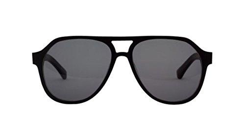 Filtrate Eyewear Hoffman Sunglasses Blackout & Smoke - Hoffman Glasses